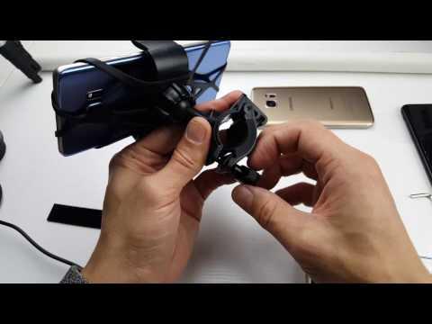 Diateklity Universal Bike Handlebar Phone Holder Review
