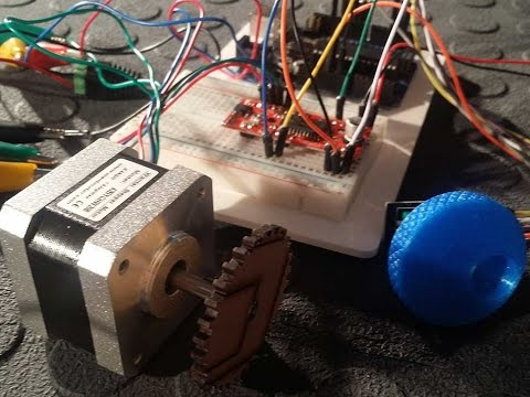 Control a Stepper motor using an Arduino a Rotary Encoder and Easy Driver - Tutorial - Part 2