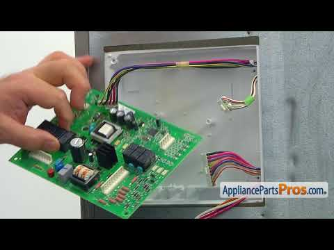 Refrigerator High Voltage Control Board (Part #WPW10310240) - How To Replace
