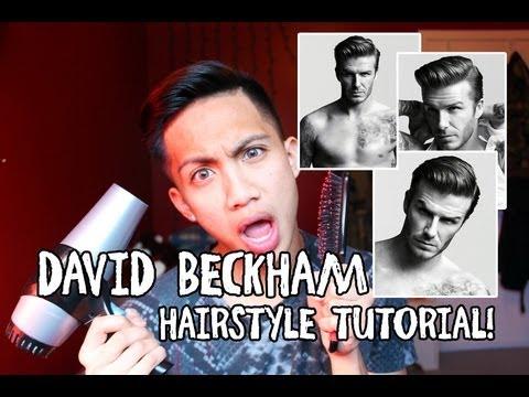 DAVID BECKHAM HAIRSTYLE TUTORIAL! | H&M INSPIRED