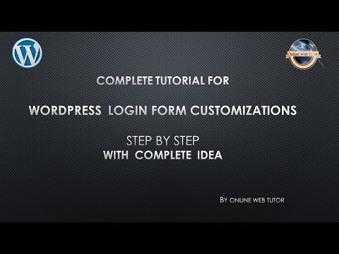 Step by step to Change WordPress Login Page Without Using a Plugin – The Right Way in easy steps