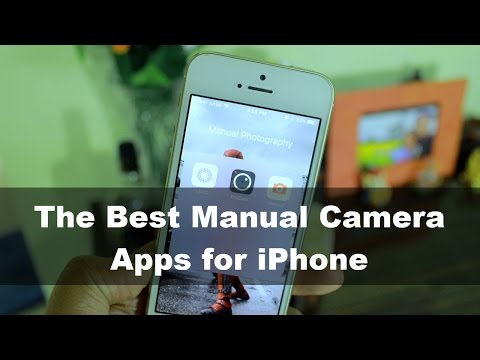 The Best Manual Camera Apps for iPhone (Photo Fridays)