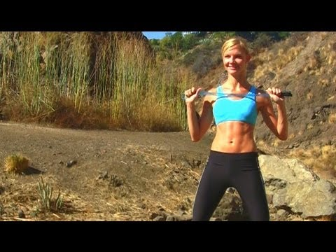 All-Over Toning & Jumping For Joy Workout ★ Powerful & Fun 10 min. with a Skipping Rope