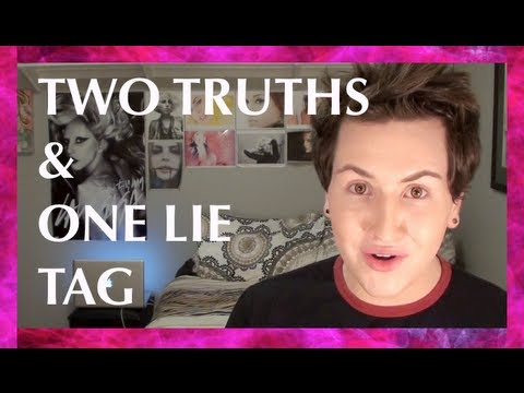 TUKIE'S TWO TRUTHS & ONE LIE TAG ♡ ♡ ♡