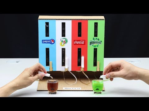 How to Make CocaCola, Pepsi, Mirinda, 7Up DISPENSER