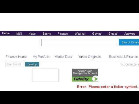 How-To Create A Personal Stock Symbol Ticker Tape