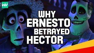 Why Did Ernesto De La Cruz Betray Hector? (Backstory Explained!)   Coco Theory
