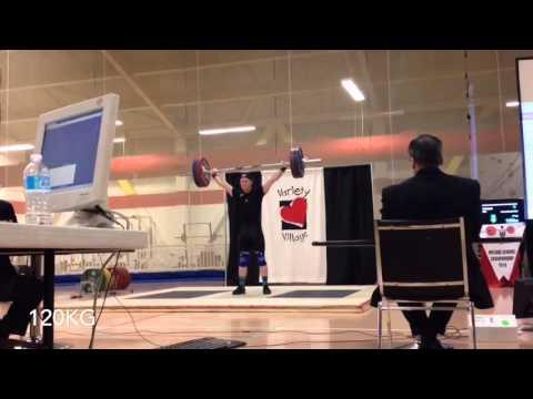 Ontario Championships 262 kg total