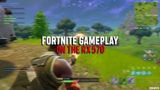 4K] Fortnite Battle Royale Sniper Shootout V2 Gameplay   RX