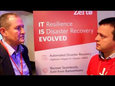ZERTO Disaster Recovery Manolo Rizzuto ZERTO Solutions Engineer