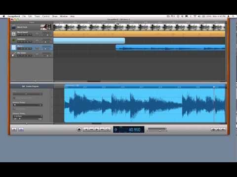 Build a Movie Soundtrack in GarageBand - 4 - Editing an Audio File