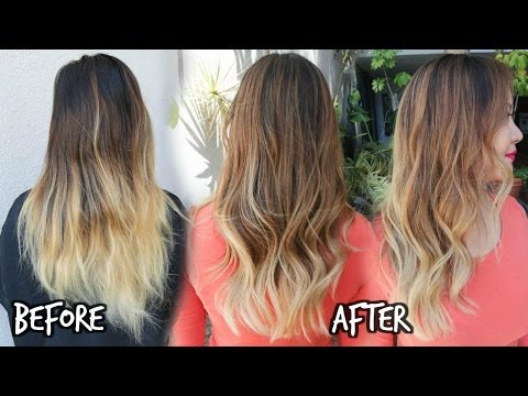 Balayage Ombre Color Touch Up