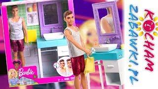Barbie I Ken 💞 Domowe Zajęcia 🚿 Ken W łazience 🛁 Fyk53