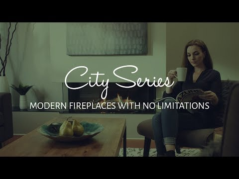 Regency City Series Gas Fireplaces - Find Your Creative Freedom