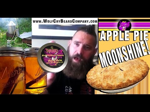 New APPLE PIE MOONSHINE Beard Balm!