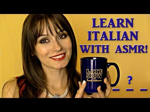 [ASMR ENG] Guess The Italian Words ! ✓^◡^✓