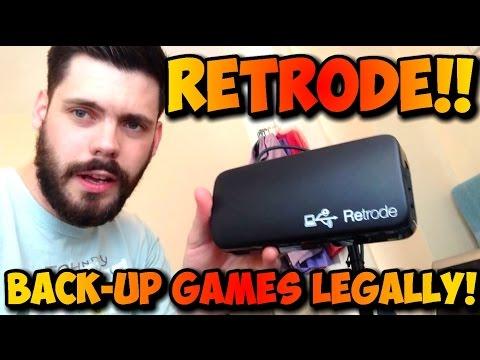 Retrode - LEGALLY Back up Gameboy, N64, Genesis, SNES and Master System Games