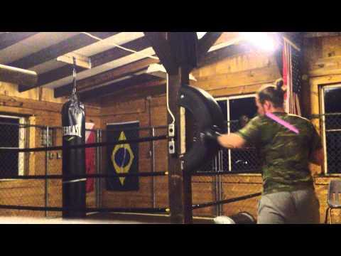 DIY Uppercut bag for Boxing/MMA