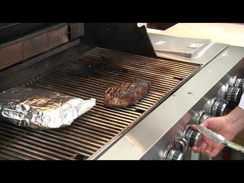 Grilled New York Strip Steak with Compound Butter