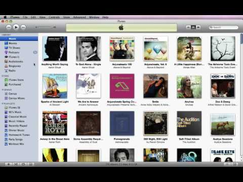 Apple iTunes 9 Getting Started With iTunes