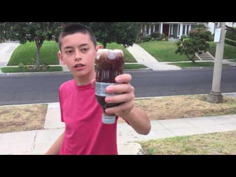 Diet Coke And Mentos grenade | Nathan LCS project