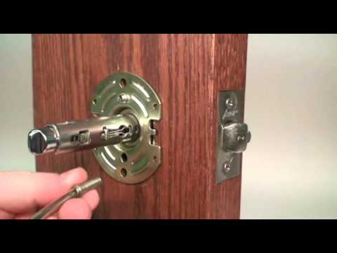 How to Install a Commerical Lever