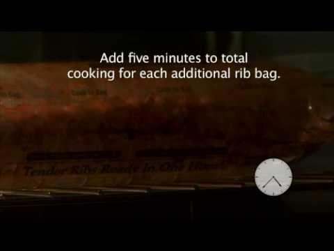PrairieFresh Prime® Cook-In Bag Pork Loin Backribs