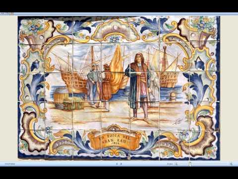 Old Spanish Tiles Craft Download