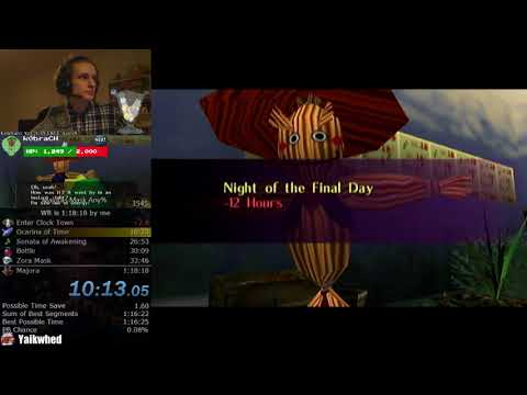 The Legend of Zelda: Majora's Mask Any% Speedrun (1:18:14)