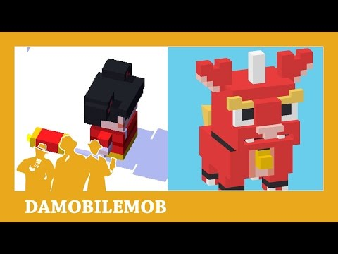 ★ Secret Character CHINESE MONSTER unlock | CROSSY ROAD CHINESE NEW YEAR UPDATE | Android 2016