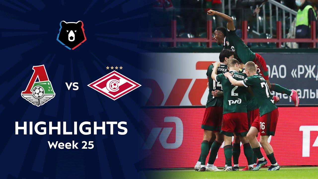 Highlights Lokomotiv vs Spartak (2-0) | RPL 2020/21