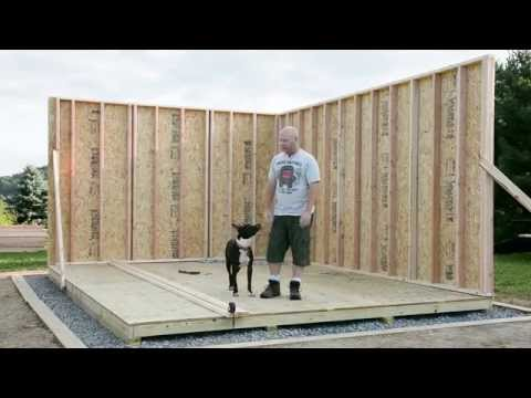 Shed Build 05 - Walls