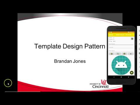 Template Method Design Pattern in Android Studio