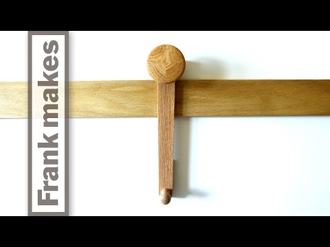 French Cleat Coat Hooks