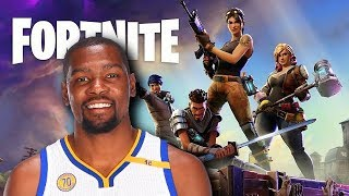 If Kevin Durant Played Fortnite Battle Royale!