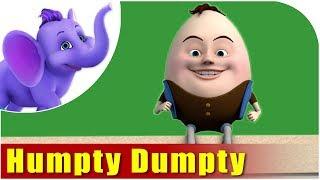 Kids Nursery Rhymes | Humpty Dumpty
