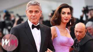 Top 10 Best Amal and George Clooney Red Carpet Looks