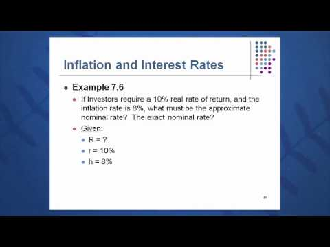 Session 07: Objective 6 - Inflation and Interest Rate