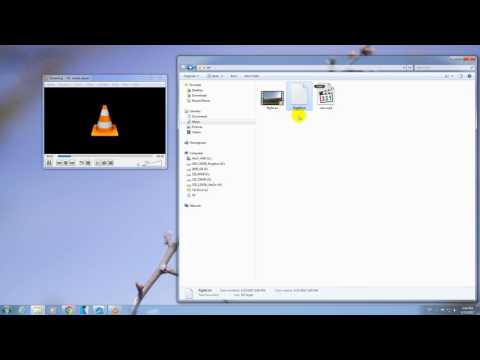 How to hardcode a Subtitle into a Video using VLC