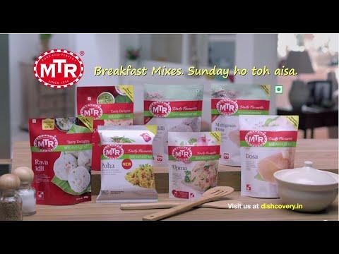 MTR Breakfast Mix 60 sec Hindi