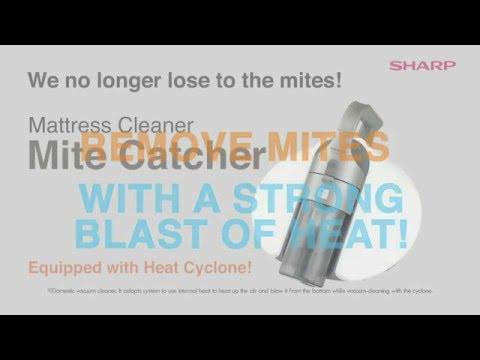Sharp Mattress Cleaner Mite Catcher