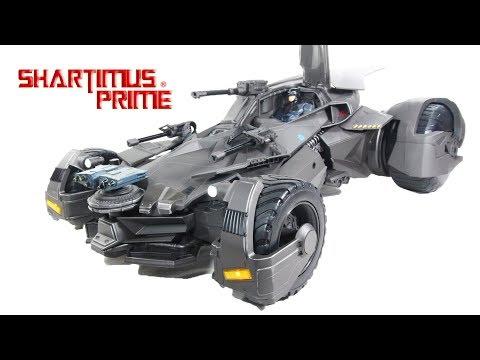 Justice League Ultimate Batmobile 1:12 Scale Mattel Remote Control DC Comics Vehicle Figure Review