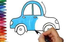 Cara Menggambar Mobil Untuk Anak Tk