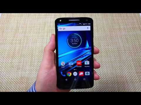 Motorola Droid TURBO 2 How to capture or take a Screenshot picture of screen X Force