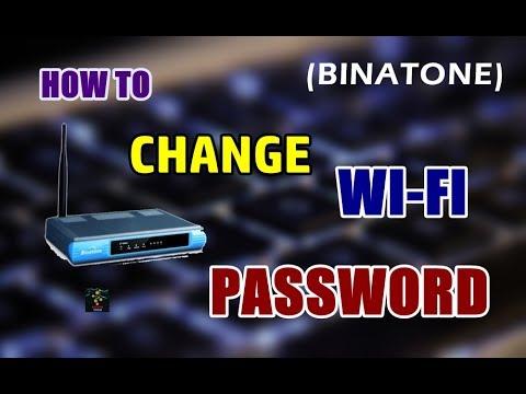 How To Change Wifi Password | Binatone Routers
