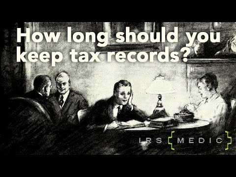 How long should I keep my tax records?