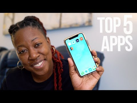 Top 5 iPhone Apps - May 2018