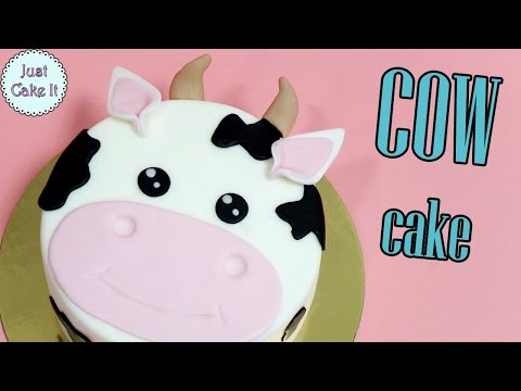 How to make easy cow cake!