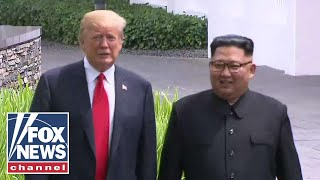 Trump: Meeting with Kim Jong Un was