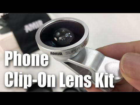 Amir Clip on Camera Lens Kit (Fisheye, Macro, Wide Angle) for Smartphones Review